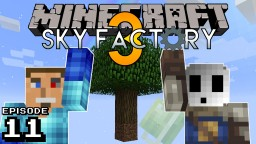 Let's Play SkyFactory! THE FLOATING FORTRESS!!! Minecraft Blog