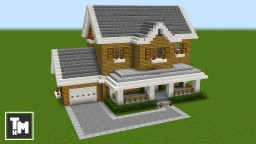 Minecraft How To Build A Suburban House Easy 4k Episode 1