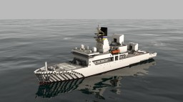 USNS Howard O. Lorenzen (T-AGM-25)  1:1 scale Minecraft
