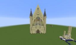 Sainte-Chapelle de Vincennes Minecraft Project