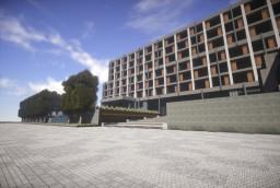 Modern hotel Minecraft
