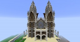 Epic Elven Cathedral Minecraft Map & Project