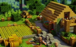 Atmospheric Villager House Remodel Minecraft Map & Project
