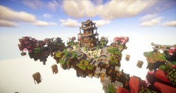 Sakura  桜 - Skywars map Minecraft Project