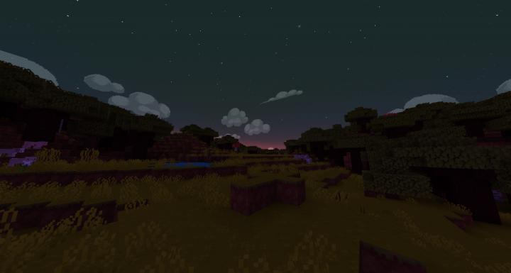 Custom night and day sky with Optifine!