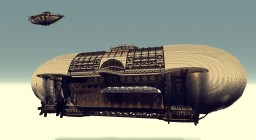 Freighter Airship Minecraft Map & Project