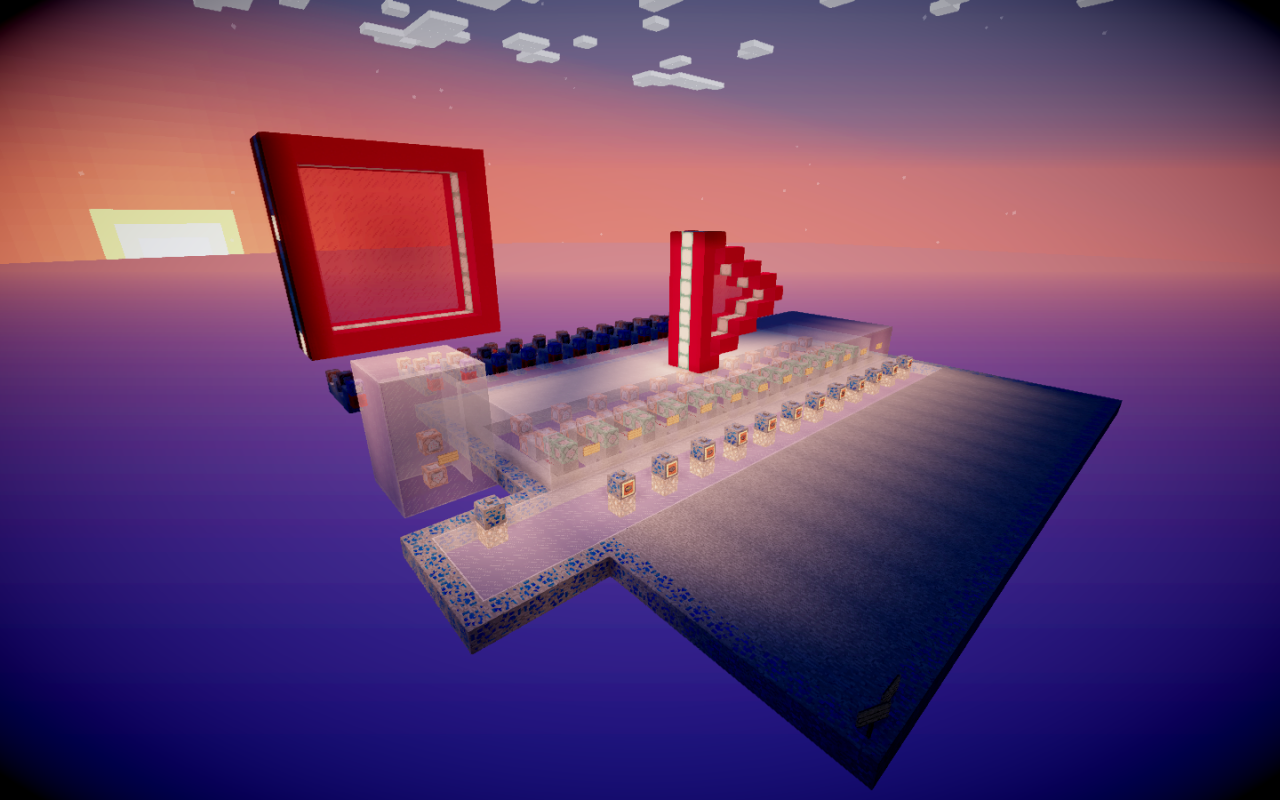 Over Complicated Record Player 1122 Minecraft Project