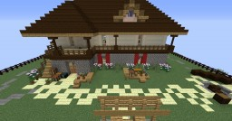 Balkan House Minecraft Map & Project