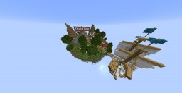 Minecraft Floating Island Spawn! Minecraft Project
