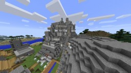 ROCK HOUSE Minecraft Map & Project