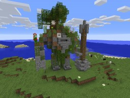 Mountain giant Minecraft Map & Project