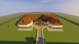 Modern Log Cabin Minecraft Map & Project