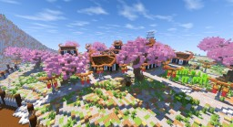 Japanese Village -=- Black Clover RP-=- Minecraft Project