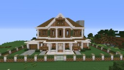 Large Suburban House (#3) for survival Minecraft