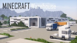 Minecraft Warehouse/Logistics Center (full interior) Minecraft Project