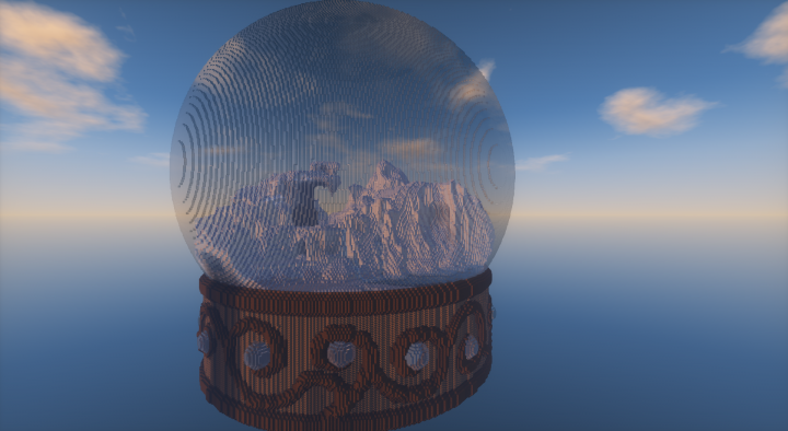 Official snow globe contest starter map minecraft project official snow globe contest starter map photolibrary gallery public world viewer gumiabroncs Choice Image