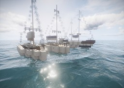 Modern Boat Collection Minecraft Map & Project