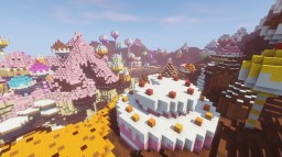 Candy Canyon Minecraft Map & Project
