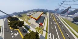 Shell Gas Station   Artenia Minecraft Project