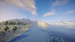 """IceLand"" By ClemsDX - Worldpainter Minecraft"