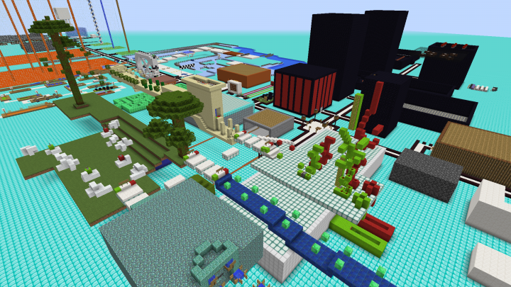 The TNT Games Minigame Park Minecraft Project - Minecraft tnt spiele