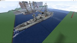 HMS Starling - Modified Black Swan-class Sloop Minecraft Project