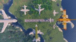 Airplanes Minecraft Map & Project