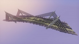 CABLE-STAYED BRIDGE Minecraft Map & Project