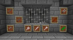 Prison Items Resource Pack Ver. 1.1 Minecraft Texture Pack