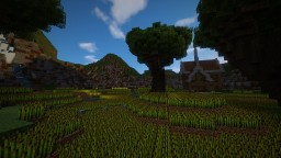 Valley with fields Minecraft Map & Project