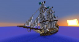 Polacre - Seventeenth-Century Sailing Vessel Minecraft Map & Project