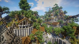 Themethyr - An elven village Minecraft Project