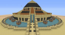 Fort Sanctuary Desert Minecraft Project