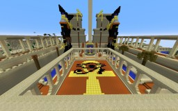 Egyptian Desert Arena Minecraft Map & Project