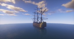 HMS Victory V4 Minecraft Map & Project