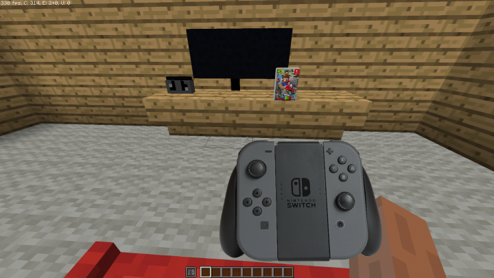 Controllers look great in off hand!