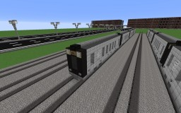 Subway / Train 1 Minecraft Map & Project