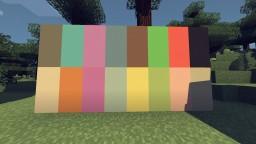 Pastel Pallete Minecraft Texture Pack