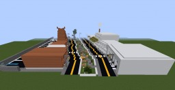 Modern House Project Minecraft Map & Project