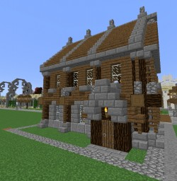 medieval Mehrfamilienhaus Minecraft Map & Project