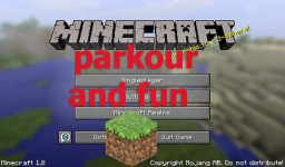 parkour and fun Minecraft Map & Project