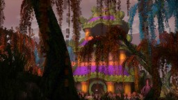 Pandaria - World of Warcraft inspiration Minecraft