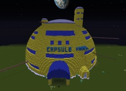 Dragon Ball Z - Capsule Corporation Minecraft Map & Project