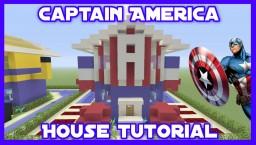 'Captain America' House Tutorial Minecraft Project