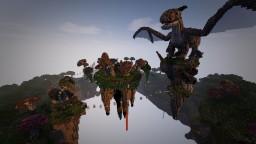 Spawn Server Floating Island Medieval Fantastique (free use) Minecraft Project