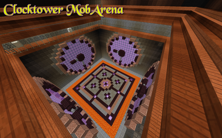 Hidden inside Rivenguard's clock-tower is the server's first MobArena.