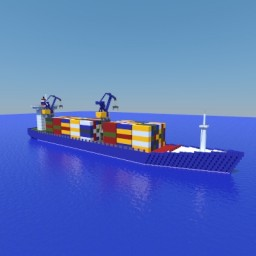 Container Ship XE Minecraft Project