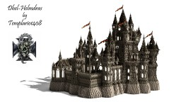 Dhel-Helmdras - Medieval Castle [New update] Minecraft Map & Project