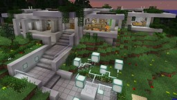 Modern concrete house #3 Minecraft Project