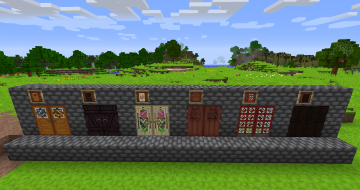 Double Doors - No shaders